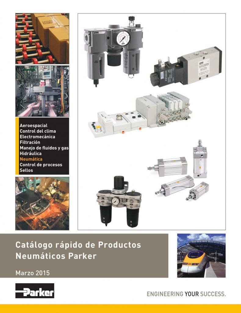 Neumatica, Catalogo Rápido de Producots Neumáticos Parker